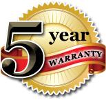 5 year warranty wood window repair